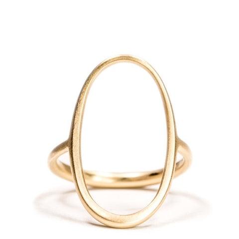 <!--RG334-->open oval ring