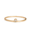 <!--RG441-->single diamond stacking ring