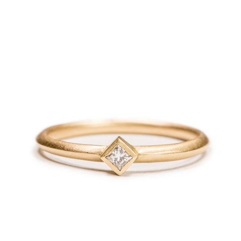 <!--RG557-->small ridge engagement ring