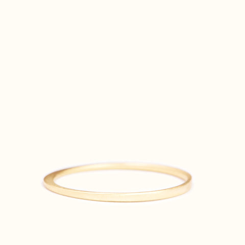 <!--RG726-->crescent dainty stacking ring
