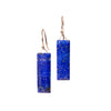 <!--ER845-->faceted lapis earrings