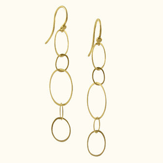 micro ellipse earrings