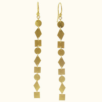 zolina 9 down earrings