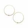 <!--ER730-->loop hoop earrings