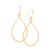<!--ER919--> teardrop keyhole earrings