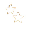 <!--ER850--> SALE small star dainty hoops