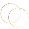 <!--ER612-->large round dainty hoop earrings