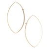 <!--ER616-->marquis dainty hoop earrings