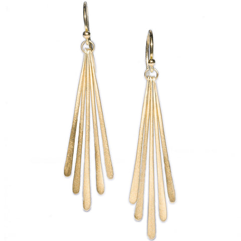 <!--ER625-->five fringe drop earrings