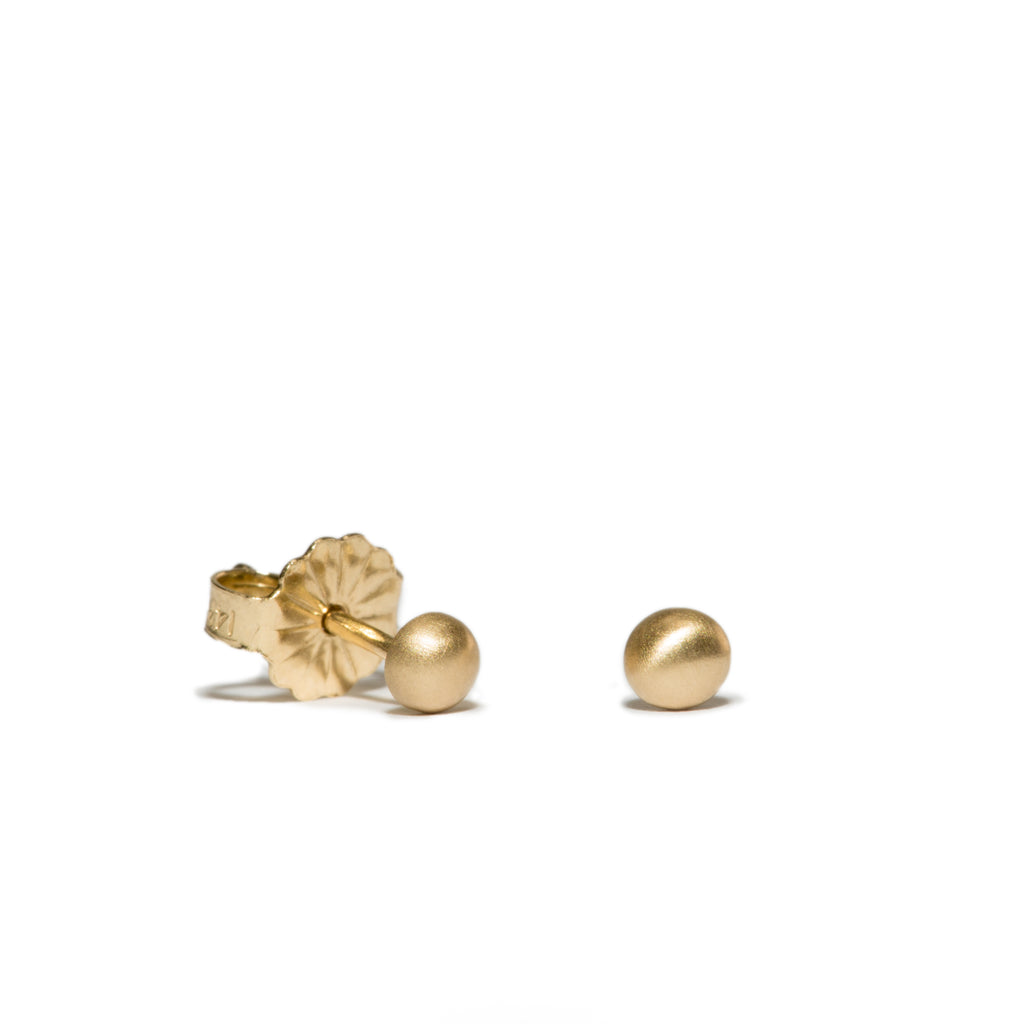 <!--ER580-->small bubble stud earrings