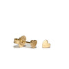 <!--ER233-->heart button stud earrings