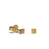 <!--ER232-->square button stud earrings