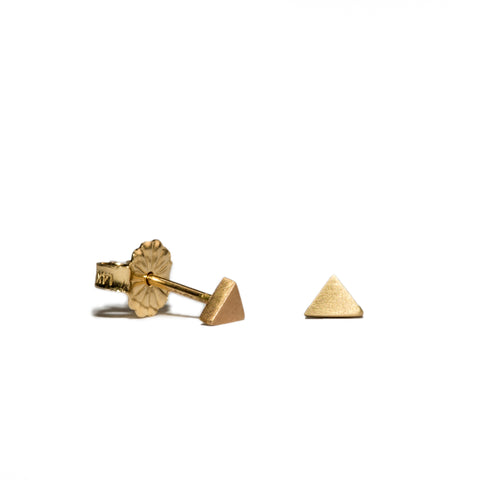 <!--ER231-->triangle button stud earrings