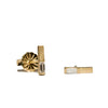 <!--ER675-->baguette stud earrings