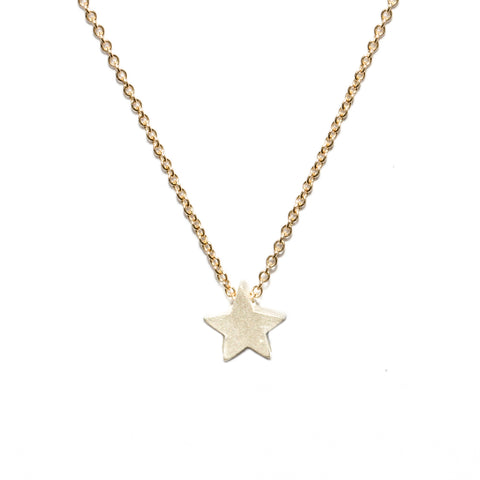 <!--NK165-->star button necklace
