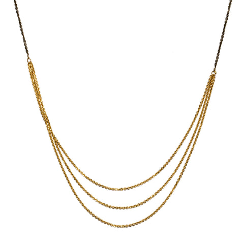 <!--NK781-->slinky long chains necklace