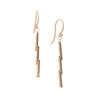 <!--ER884-->tubular mirror drop earrings