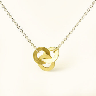 three love knots necklace