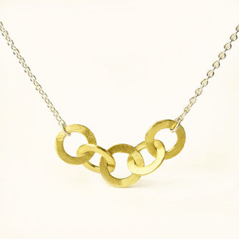 five love knots necklace