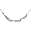 <!--NK655-->horizontal leaves necklace