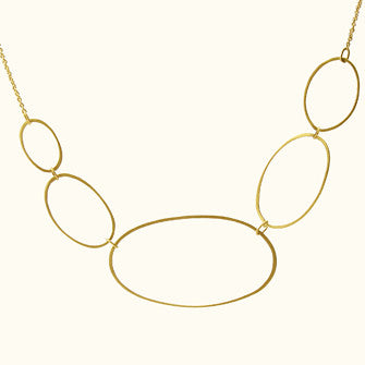 five ellipse necklace