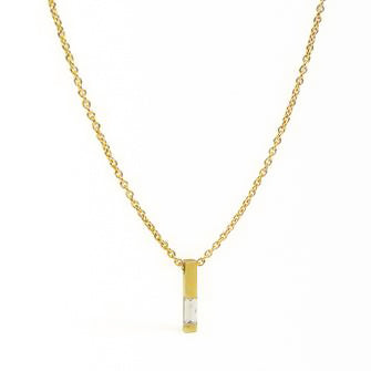 <!--NK810-->baguette diamond necklace