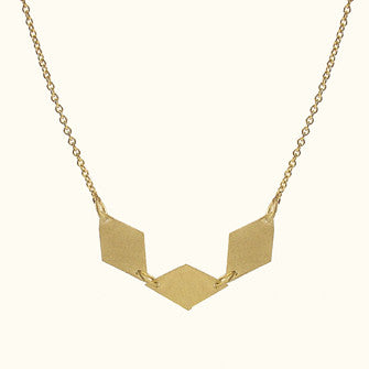 tina 3 across necklace