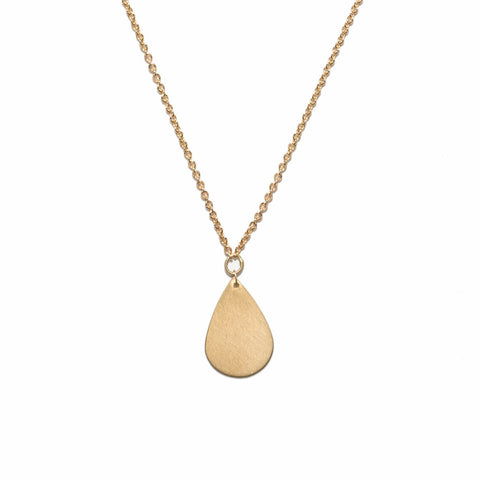 <!--NK899-->single teardrop necklace
