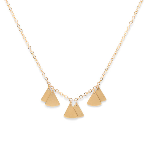 <!--NK976--> ginko lite cluster necklace