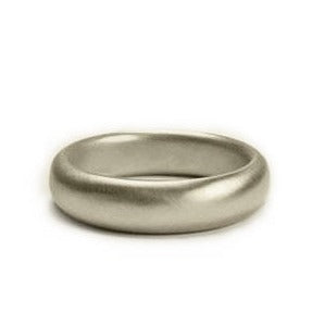 <!--RG343-->large three-quarter round wedding band