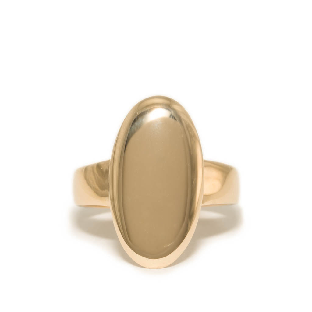 <!--RG743-->large oval mirror ring