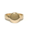 <!--RG744-->small round mirror ring