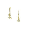 <!--ER603dia-->dainty earrings with white diamond