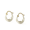 <!--ER228-->small half moon hoop earrings