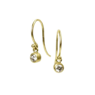 <!--ER604-->large dainty earrings with diamond