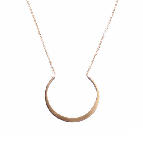 <!--NK875-->fertile moon necklace