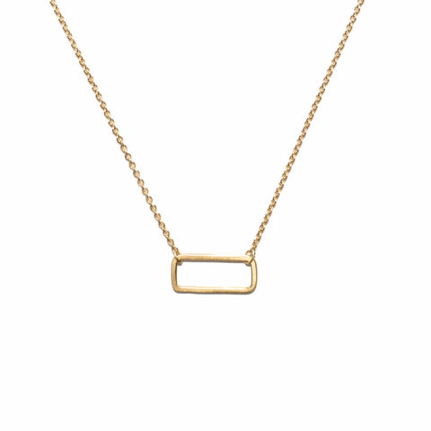 <!--NK884-->mini rectangle necklace