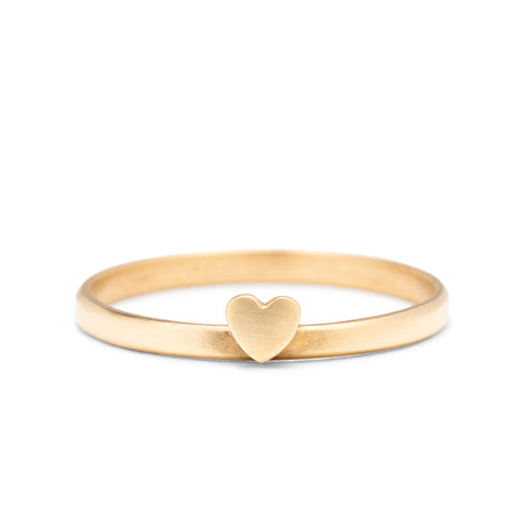 <!--RG721--> heart stacking ring