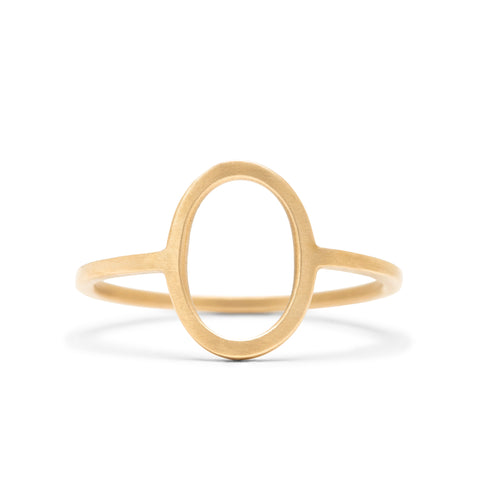 <!--RG758--> edgy oval ring