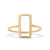 <!--RG759--> edgy rectangle ring