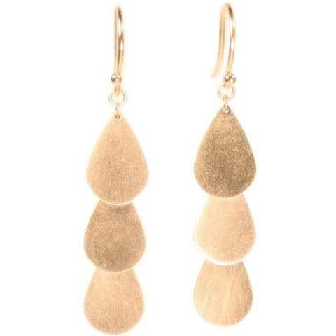 <!--ER800-->teardrop cascade earrings