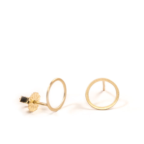 <!--ER771-->mini circle stud earrings