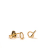 <!--ER767-->wee circle stud earrings