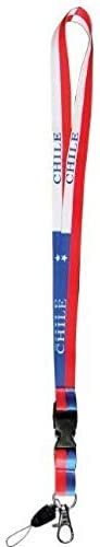 "28"" Chile Flag Lanyard"