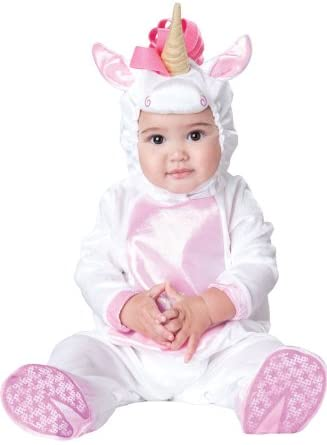 InCharacter Magical Unicorn Infant/Toddler Costume, Large (18-2T) White