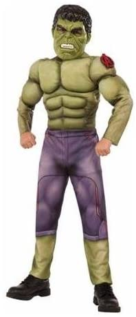 Rubie`s Hulk Muscle Costume Avengers 2 Size Medium (8) 883028098002