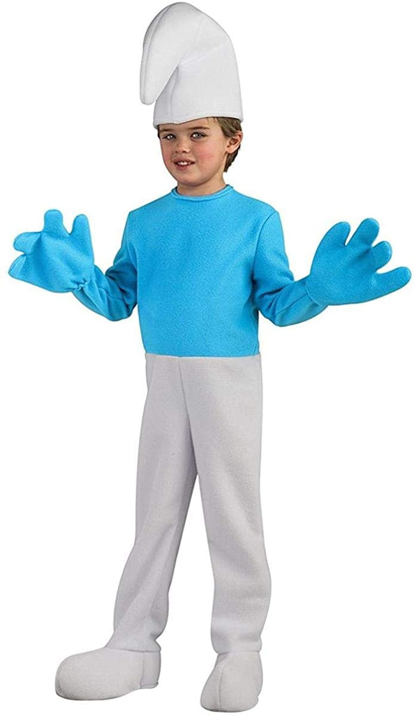 Rubies Deluxe Smurf Child Costume-Small