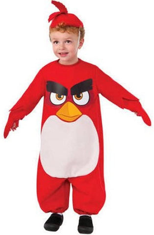 "Angry Bird ""Red"" Boys Toddler Halloween Costume ( 3T-4T)"
