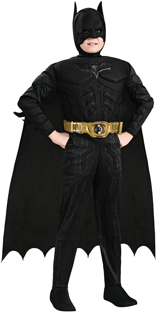Rubie's 883729 Child Deluxe Batman Costume Small Black