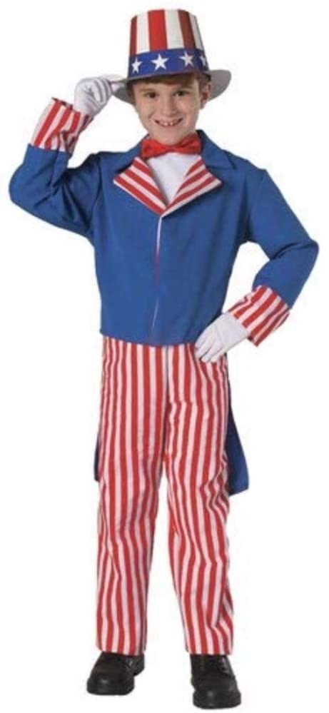 Rubie's Deluxe Uncle Sam Child's Costume